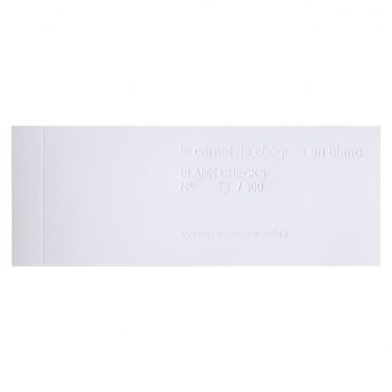 blanck checks