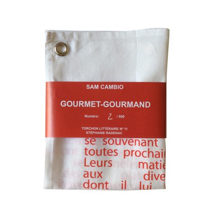 Gourmet-Gourmand / cloth
