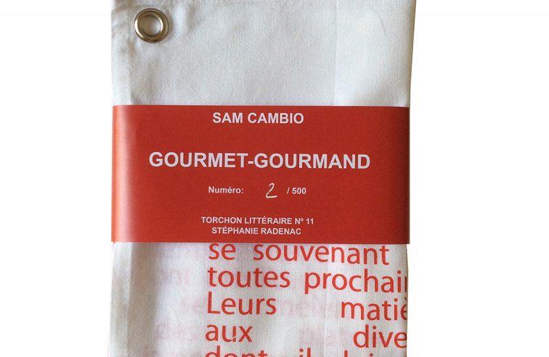 Gourmet-Gourmand / torchon littéraire