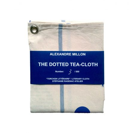 the dotted tea cloth / litterary cloth