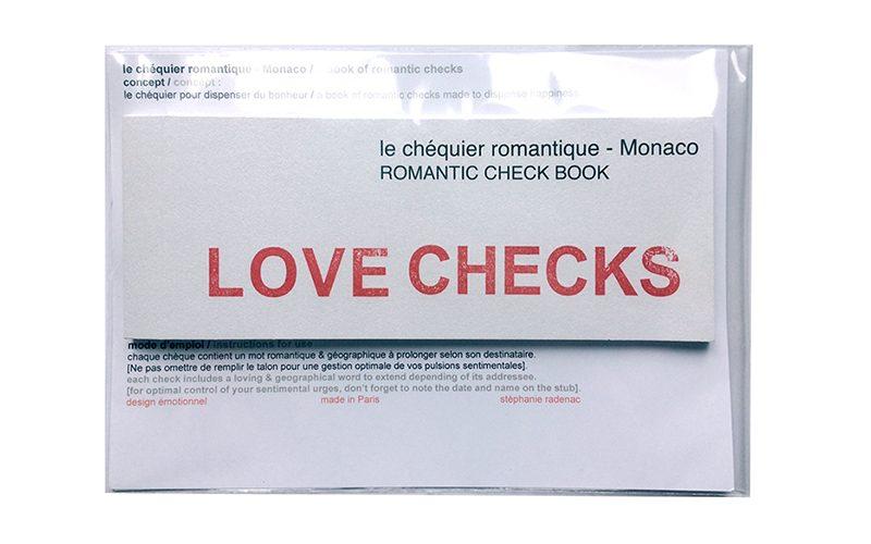 le chéquier romantique – monaco